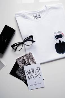 Dash My Buttons! - Hey, Karlito! Tee