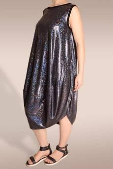 Non Tess - sukienka w holograficzny wzór