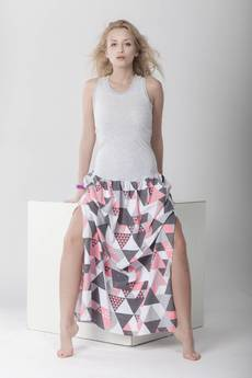 taff.one - DRESS.BOXING TRiangle long