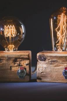 Leżakownia - Lampa wooden cube