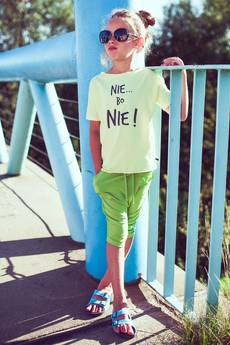 "M-art-a-baby - T-SHIRT WILI YELLOW ""NIE...BO NIE!"