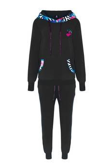 ZookiWear - Spodnie SHAKA Black Flamingo