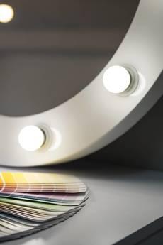 ZAP project - Lustro oświetlone do Makijażu VALENTINE 60cm (ROF-10) - okrągłe