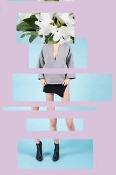 MIW Collection - Bluza z szerokim rękawem