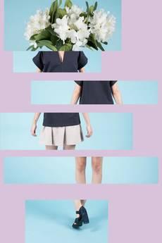 MIW Collection - Bluzka z głębokim dekoltem