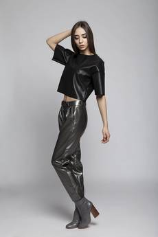 illicite wear - czarne eleganckie spodnie