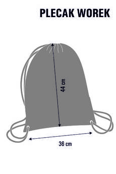 BERTONI - Worek plecak wodoodporny Karuzela