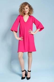 Madnezz - Eteryczna Lisa - sukienka - fuksjowa