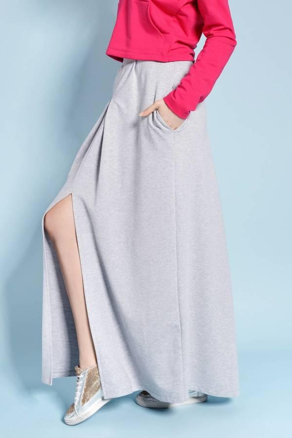 Style S089 spódnica szara