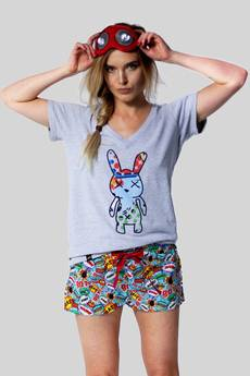 Meet The Llama - JOLLY Boom Boom - Szorty od piżamy