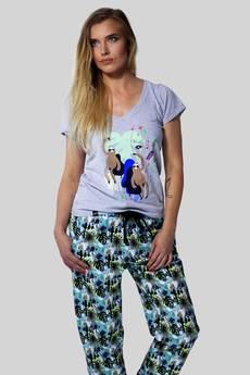 Meet The Llama - BASHFUL Attention Sloth - Spodnie od piżamy