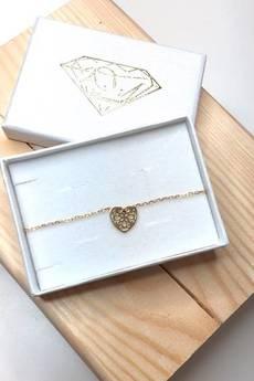 ATdiament - Srebrna  bransoletka koronkowe serce