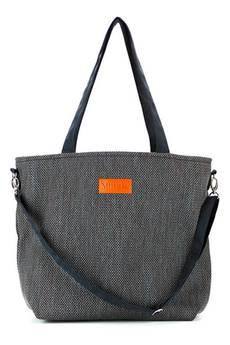 Militu - Duża torba typu shopper Mili Duo Braid MDB1 - black