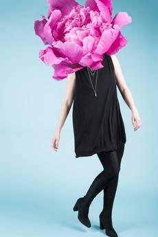 MIW Collection - Sukienka trapezowa bez rękawów