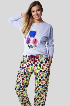 Meet The Llama - BASHFUL Forest Life - Spodnie od piżamy