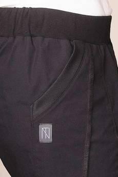 Non Tess - czarne szorty z szerokimi nogawkami