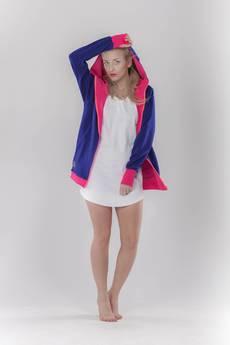 taff.one - Hoodie-nie Blue&pink
