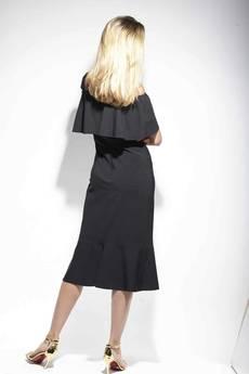 DOROTHÉ - Sukienka Sophie klasyczna elegancka czerń