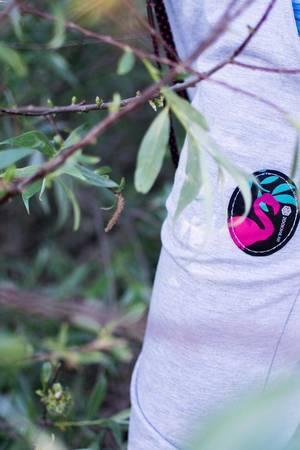 Spodnie dresowe SHAKA Gray Flamingo