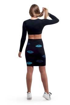 OKUAKU - Third Eye Skirt (Blue)