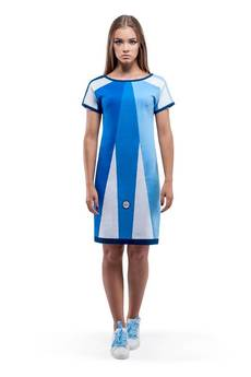 OKUAKU - Lyra Dress (Blue)