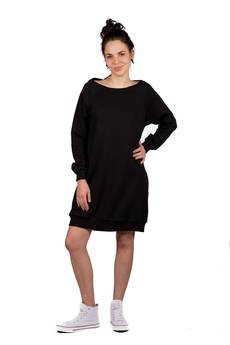 Slogan ubrania ekologiczne, etyczne i wegańskie - Vegana sukienka damska bawełna organiczna