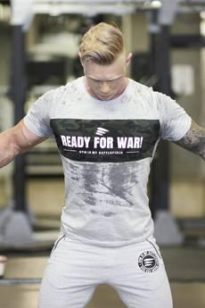 ŁAP NAS - Koszulka męska Ready for WAR