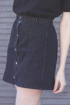 The Hive - DENIM WASHED SKIRT