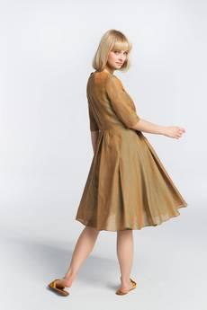 Zoee - Sukienka lniana letnia Sahara