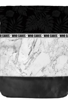 Who Cares - Leather Bottom Marble