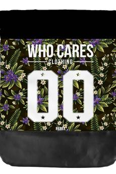 Who Cares - Leather Bottom Violet Flowers