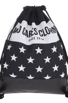 Who Cares - Leather Bottom White Stars
