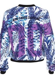 Who Cares - Baseball Jacket Purple Zero