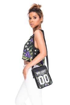 Who Cares - City Bag Violet Flowers