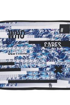 "Who Cares - Laptop Case 15"" Glitch"