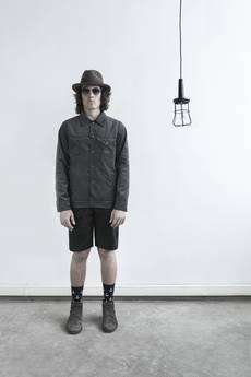 The Hive - CORDUROY JACKET IN GREY