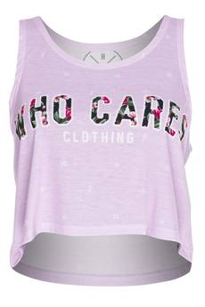 Who Cares - Summer Top Pink Milky Way