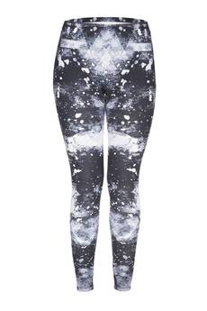 Who Cares - Leggings Black Splash