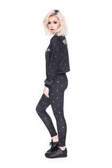 Who Cares - Leggings Milky Way