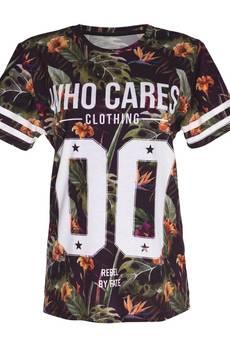 Who Cares - T-shirt Purple Paradise