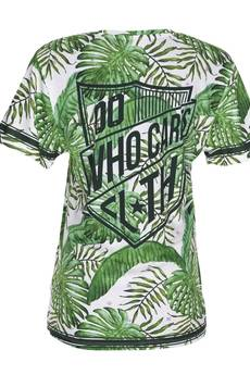 Who Cares - T-shirt Tropical Green