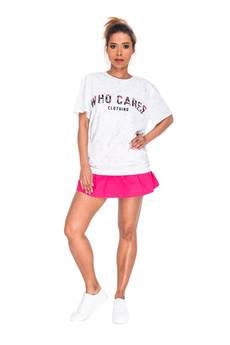 Who Cares - T-shirt Tropical Marble