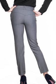 Soleil - Spodnie z szerokim pasem SL4001G