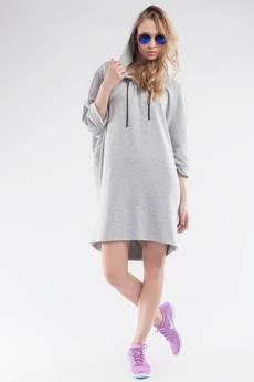 Soleil - Sukienka/Bluza z kapturem SL2154