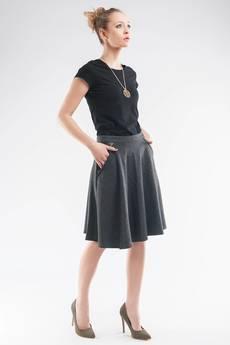Soleil - Spódnica z koła, z kieszeniami SL6078
