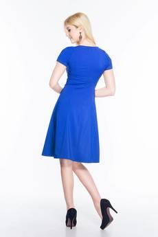 Soleil - Rozkloszowana sukienka midi SL2170BL