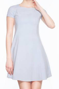 Soleil - Rozkloszowana sukienka mini SL2165G SIZE PLUS