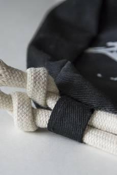Dwie Lewe Ręce - plecak LECĄ ŻURAWIE czarny