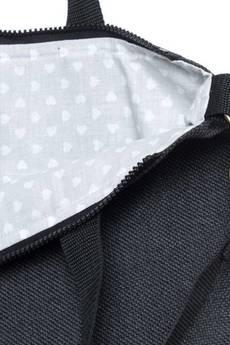drops - TORBA DAMSKA na ramię grafit