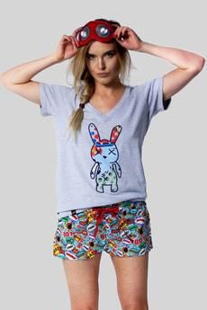 Meet The Llama - SAMBACA Boom Boom Bunny - Tshirt